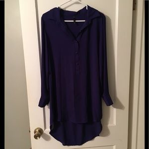 Purple Shirt Dress